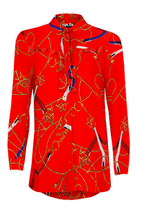 BLOUSE Nautic red