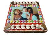 Torte eckig 24 cm für 8-10 Personen