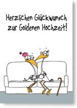 Herzlichen Glückwunsch zur Goldenen Hochzeit!