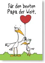 Für den besten Papa der Welt.