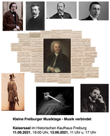 Kleine Freiburger Musiktage: Festivalticket für alle 3 Konzerte