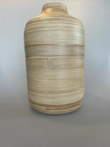 Vase in Holzoptik