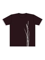 Keerls-T-Shirt Dunkelraun Strandhafer