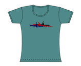 Froen-T-Shirt Kellygreen Paddler