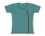 Froen-T-Shirt Wattkieker petrol