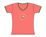 Froen-T-Shirt Spiekeroog Kogge