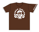 Shanty Killers Keerls-T-Shirt Braun