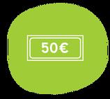 Chèque-cadeau 50 €