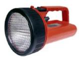 Akku-Handlampe mit Streuscheibe