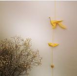 Mobile Origami jaune