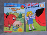 "Set of ""Clifford""-Books: Camping Out & Best Friend"