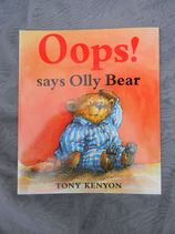 Oops! Says Olly Bear