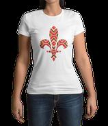 Fr. T-Shirt weiß / schwarz - MOTIV 2