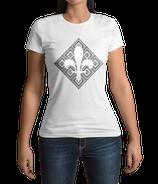 Fr. T-Shirt weiß / schwarz - MOTIV 4
