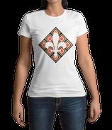 Fr. T-Shirt weiß / schwarz - MOTIV 3