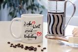 """Tasse """"Liebe ist nur ein Wort"""""""