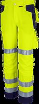 Qualitex Warnschutz Bundhose PRO MG 245 Warngelb