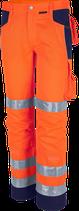 Qualitex Warnschutz Bundhose PRO MG 245 Warnorange