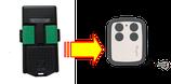 Télécommande CARDIN S476