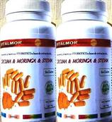 200 Caps. cúrcuma+moringa+stevia (Artritis - Articulaciones)