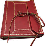 Leather photo album, Sforza series