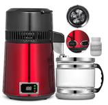 Wasser & Alkoholdestillator 750 Watt, mit Termostat, mit Glasbehälter