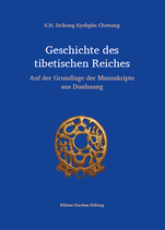 Drikung Kyabgön Chetsang, Geschichte des tibetischen Reichs – Auf der Grundlage der Manuskripte aus Dunhuang
