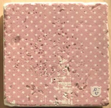 "Deko-Fliese ""Dots rosa"" - aus Marmor"