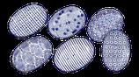 Seifenunterlage Keramik oval