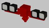 Lichtmast TEKLITE mit 4 Xenon Scheinwerfern