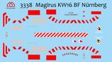 Decal Magirus KW16 BF Nürnberg