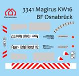 Decal Magirus KW16 BF Osnabrück