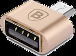 штеккер microUSB-гнездо USB