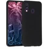 TPU Case Hülle Samsung Galaxy A40 Schwarz