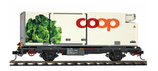 Bemo 9469 116 RhB Lb-v 7876 Containerwagen Kopfsalat