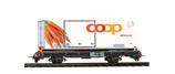 BEMO 2269 127 RhB Lb-v 7877 mit Coop Kühlcontainer Karotte