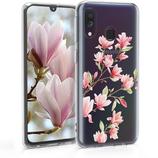 TPU Case Hülle Samsung Galaxy A40 Magnolie