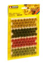Noch 07011 - Grasbüschel, XL, rot/gelb