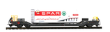 BEMO 2289 110 RhB Sb-v 7730 mit Container Spar Berge 125 B
