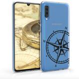 TPU Case Hülle Samsung Galaxy A70 Kompass