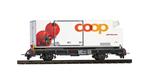 BEMO 2269 120 RhB Lb-v 7881 mit Coop Kühlcontainer Tomate