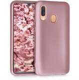 TPU Case Hülle Samsung Galaxy A40 Rosegold