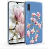 TPU Case Hülle Samsung Galaxy A70 Magnolien