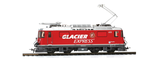 BEMO 1258 183 RhB Ge 4/4 II 623 Werbelok Glacier-Express Analog