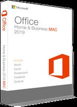 MS Office 2019 Home & Business für Mac (1 Nutzer / Dauerlizenz) E-Mail Versand