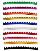 Ring Aluminium Sittich Gemischte Farben 4,0 mm 10 St
