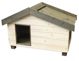 Woodland Hundehütte fado Cottage-weiss 128x78x79cm