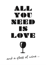 PK All you need is love - and a glass of wine