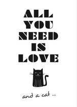 PK All you need is love - and a cat