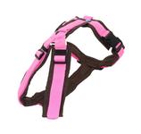 anny•x Brustgeschirr FUN - braun/rosa - Sonderfarben